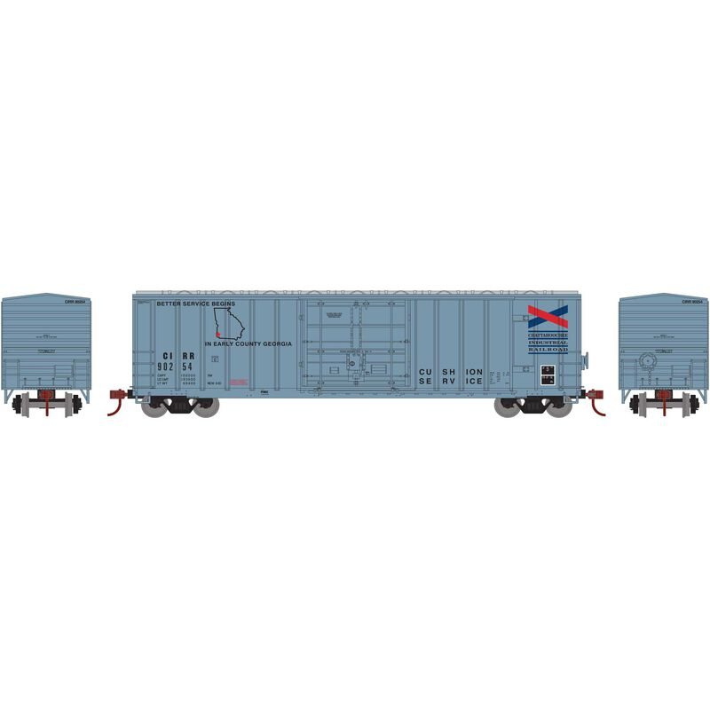 N 50' FMC Superior Plug Door Box CIRR #90254