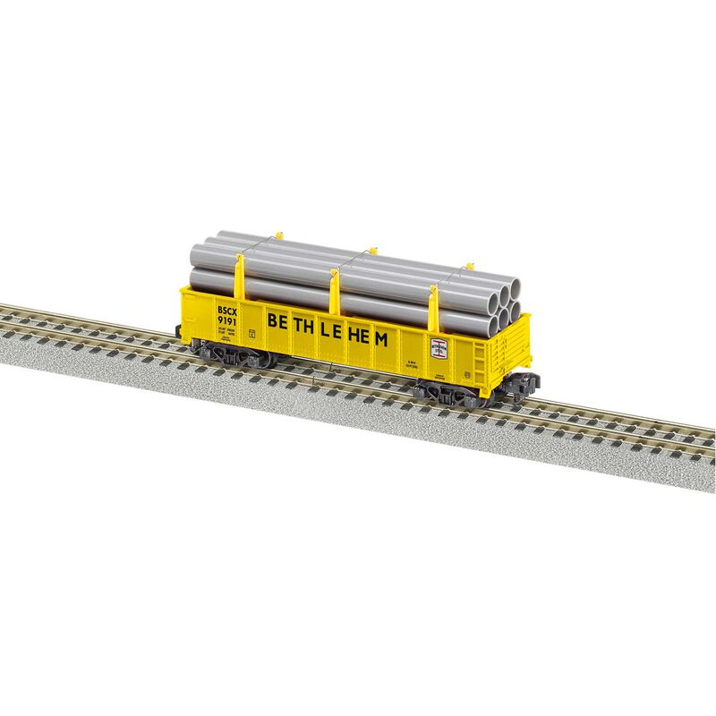 S Gondola with Pipe Load BSCX #9191