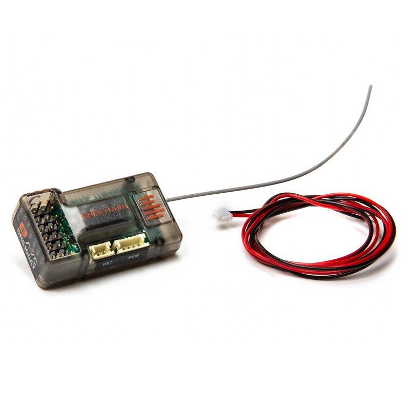 SR6100AT DSMR 6-Channel AVC Telemetry Surface Receiver