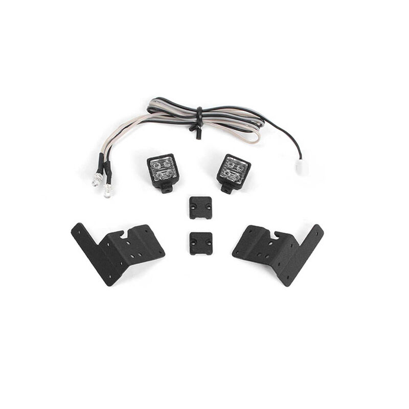 Pillar Lights Kit for Axial 1/10 SCX10 III Jeep