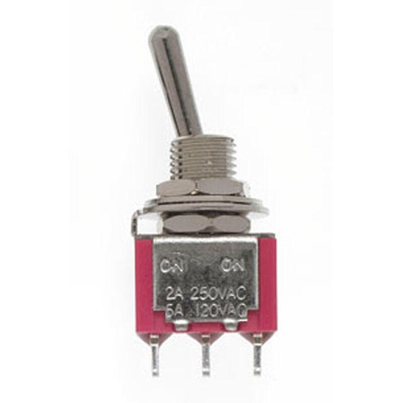 SPDT Mini Toggle Switch, 5A, 120V (4)