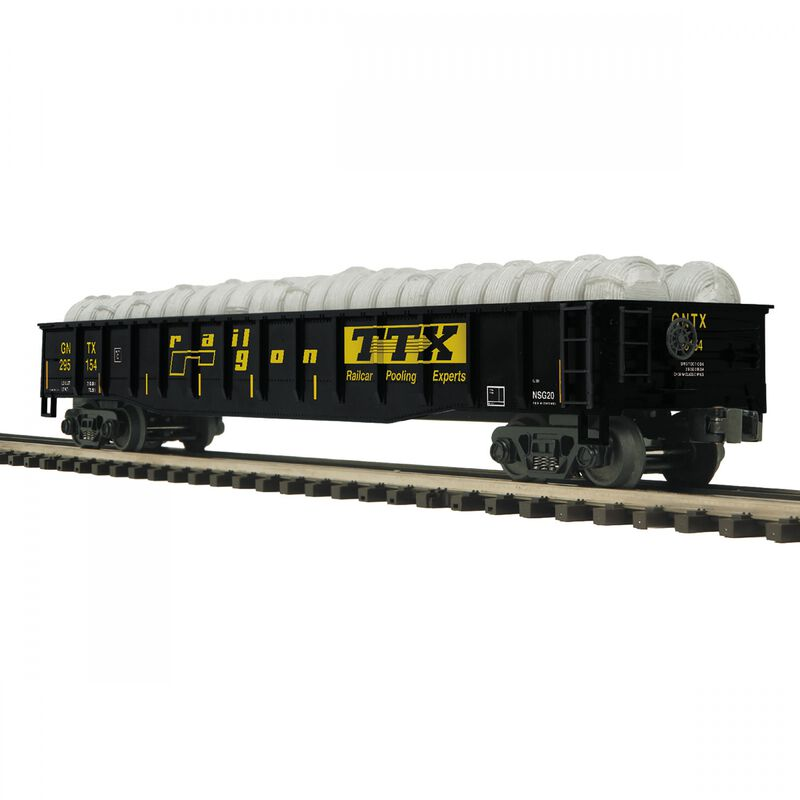 O Gondola with Coiled Wire Load TTX #295154