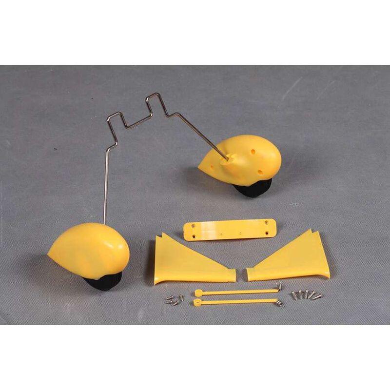 Main Landing Gear: Waco Yellow