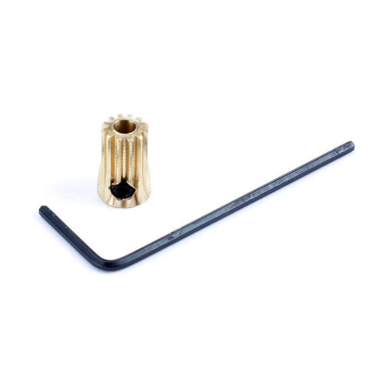 Pinion Gear, 12T 0.5 Module 1/8 ID x 12mm L
