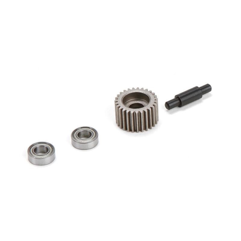 Metal Idler Gear, Shaft, Bearings: XXX-SCT/SCB