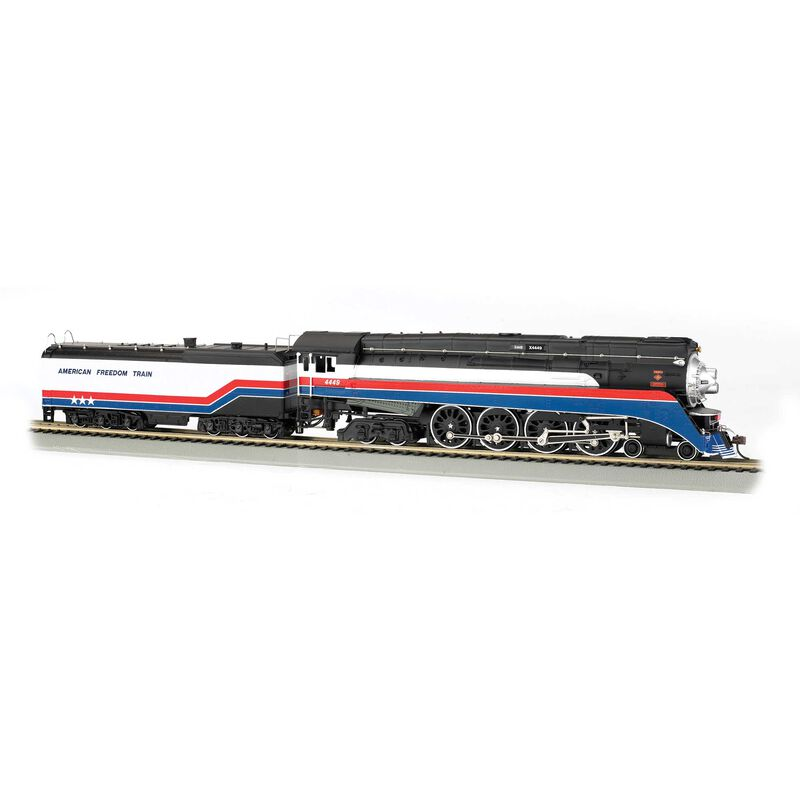 HO 4-8-4 GS4 w DCC & Sound Value American Freedom