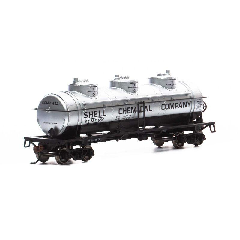 HO 3-Dome Tank, SCMX #652