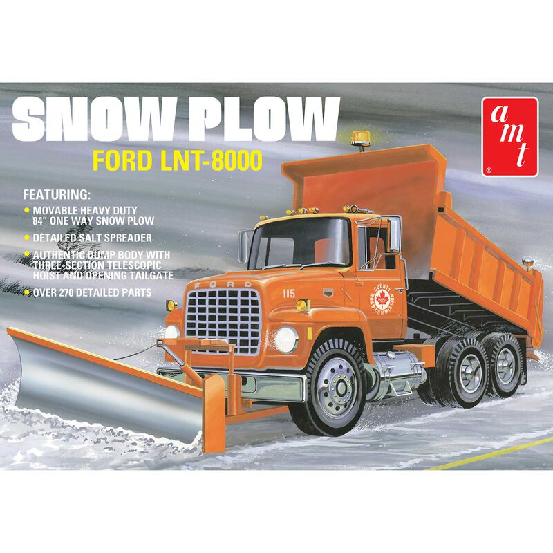 1/25 Ford LNT-8000 Snow Plow