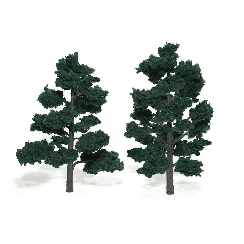 """Ready-Made Tree, Dark Green 6-7"""" (2)"""