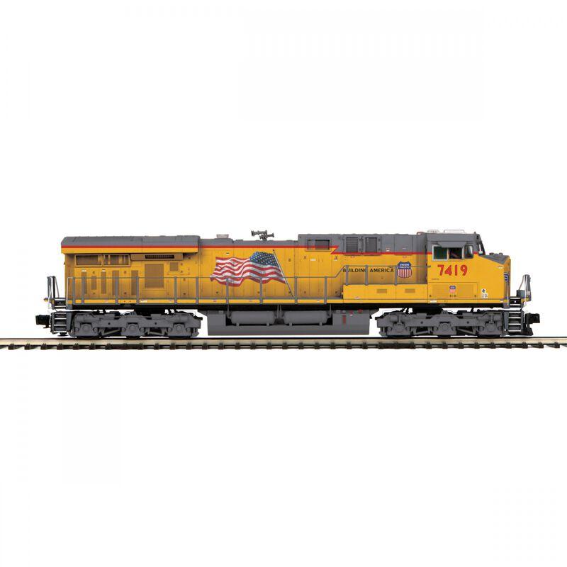 O Hi-Rail ES44AC with PS3 UP #7419