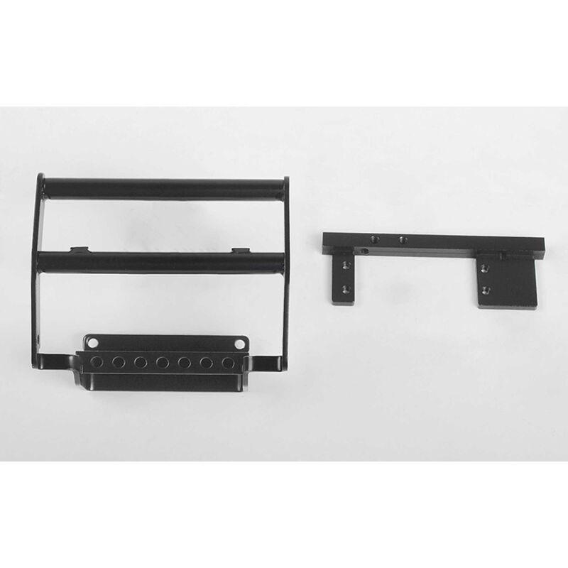 Steel Push Bar Front Bumper: 1985 Toyota 4Runner Hard Body