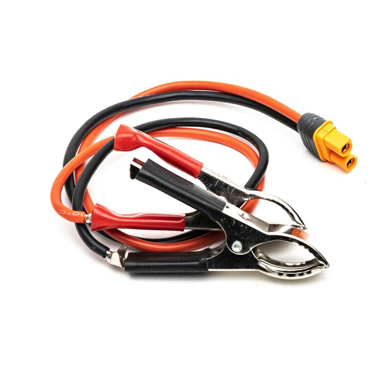 DC Power Cord, Alligator to IC3 Battery