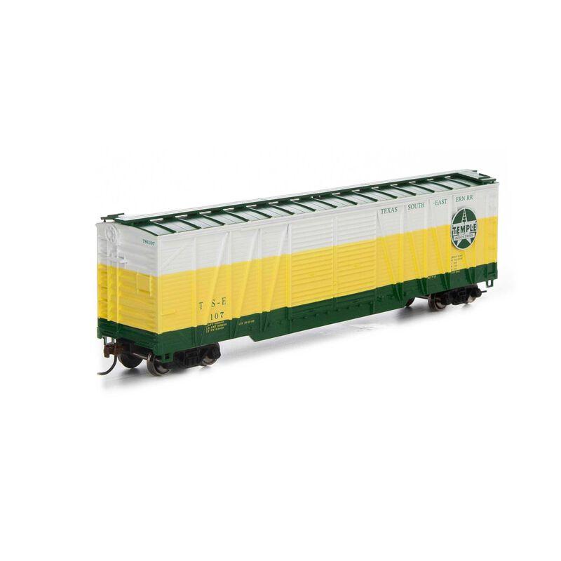 HO RTR 50' Single Sheathed Box TS&E #107