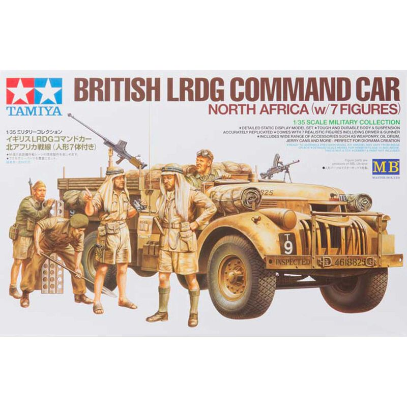 1/35, British LRDG Command Car, 7pc