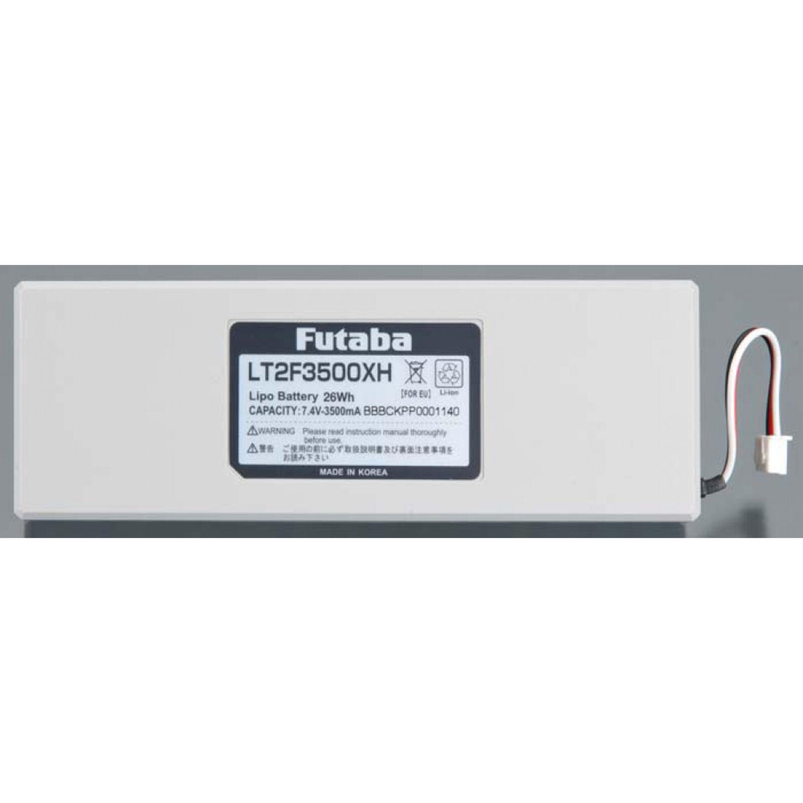 LiPo 2S 7.4V 3500mAh Transmitter Battery 18MZ