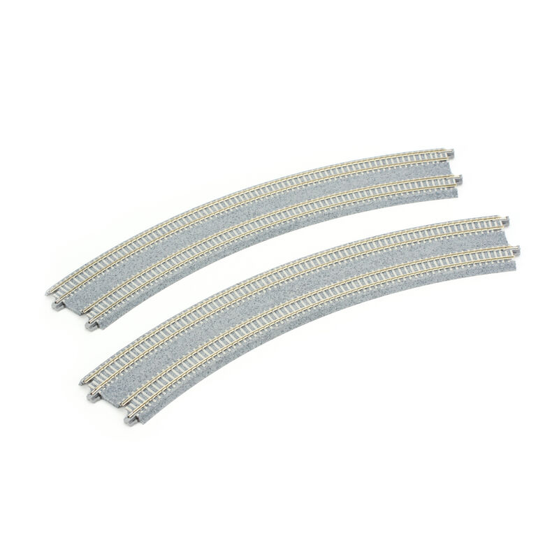 """N 15""""/16.4"""" 45-Degree Double Track Superelevated Curve (2)"""
