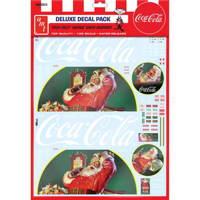 1/25 Vintage Santa Clause BigRig Graphics CocaCola