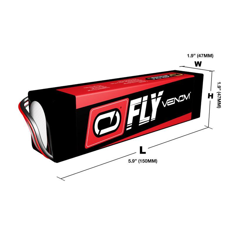 22.2V 5000mAh 6S 30C LiPo Battery: UNI 2.0 Plug