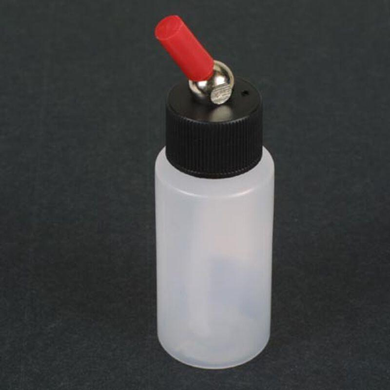 1 oz Plastic Cylinder, Translucent
