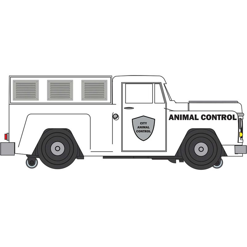 O WIL E-Z Street Delivery Van Animal Control Truck