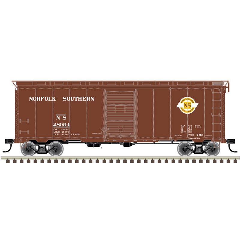 HO 40' Postwar Box NS #28107