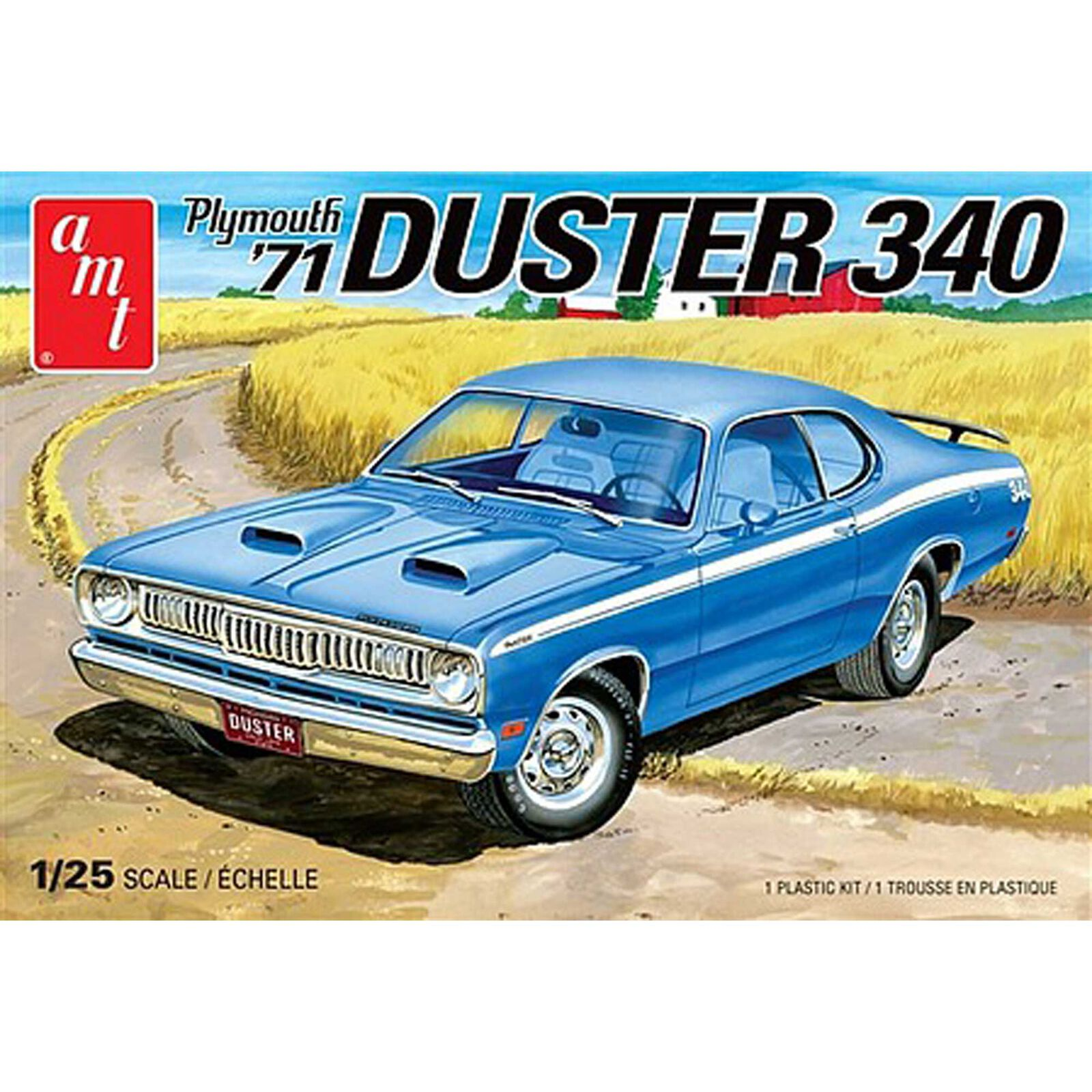 1/25, 1971 Plymouth Duster 340, Model Kit