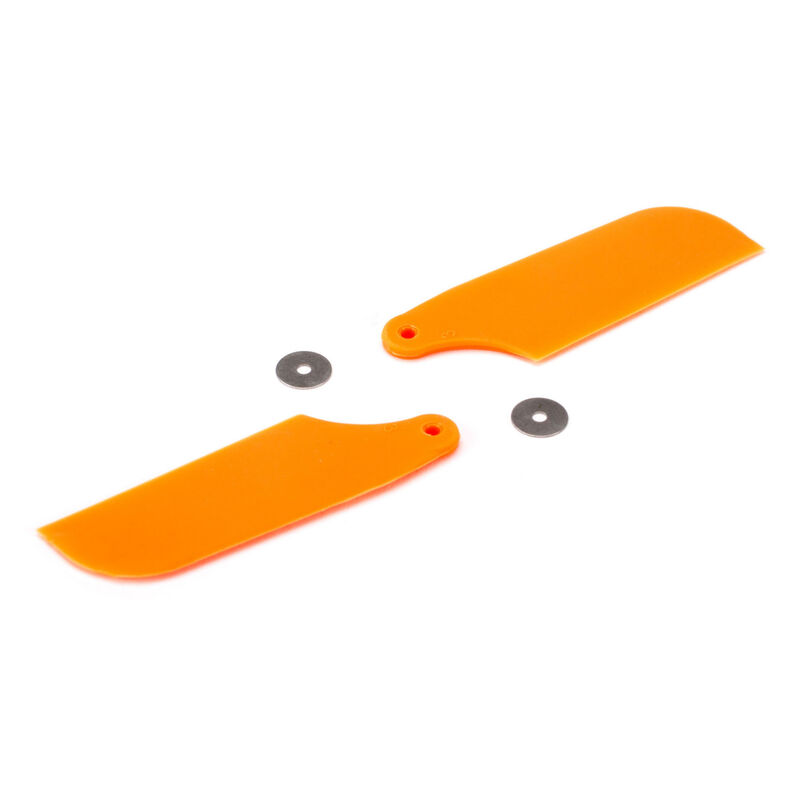 Tail Rotor Blade Set, Orange: B450 3D, B400, B450 X