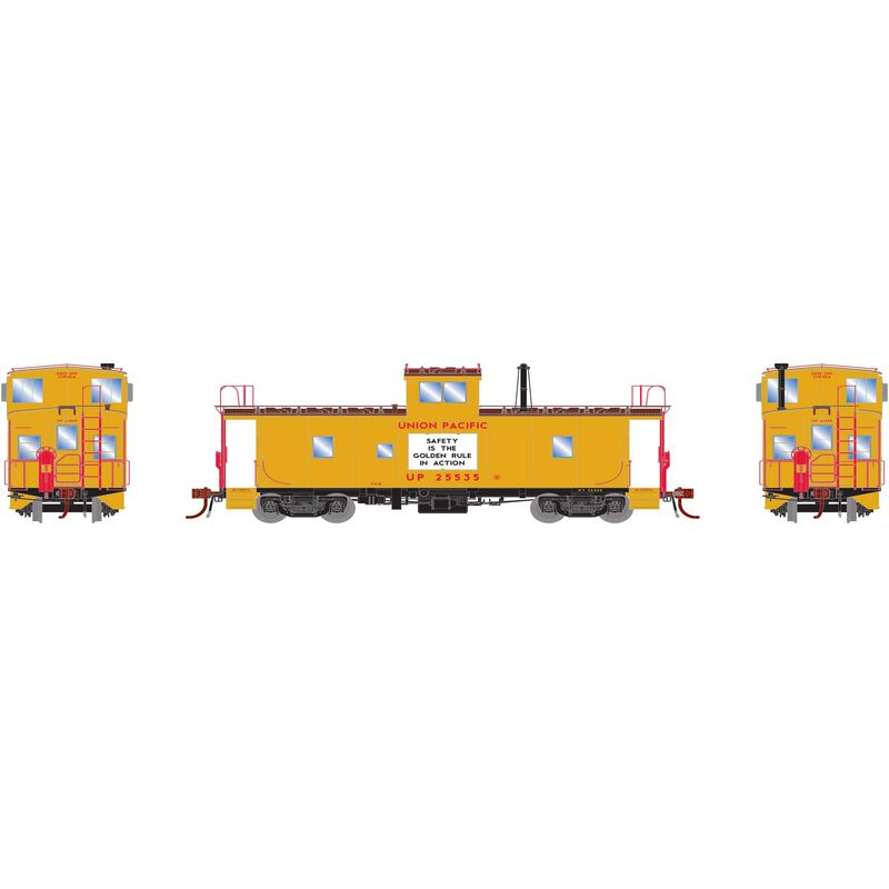 HO ICC Caboose with Lights UP #25540