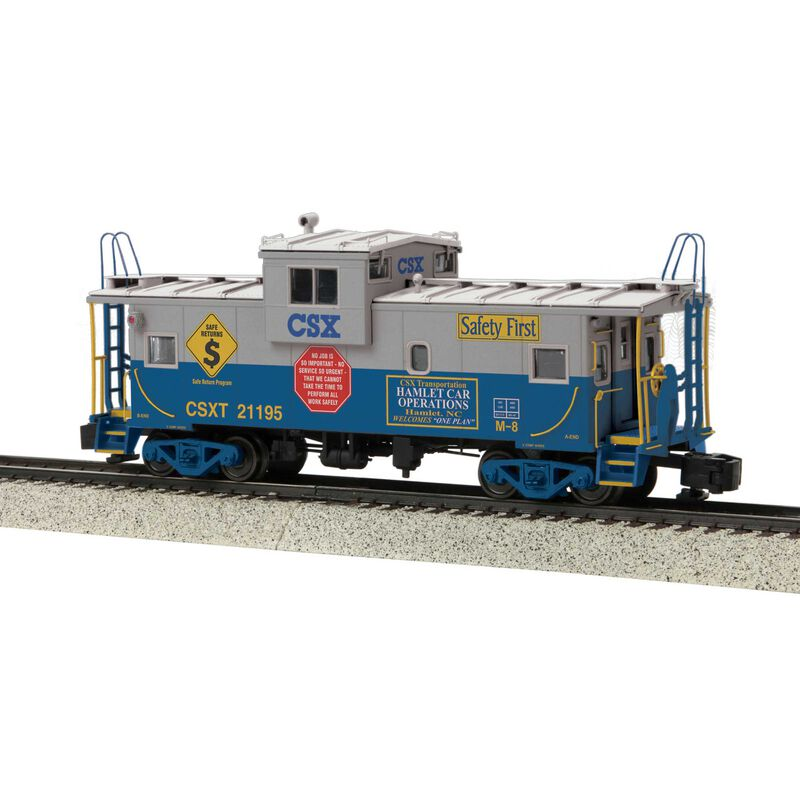 Extended Vision Caboose Scale Wheels CSX #21195