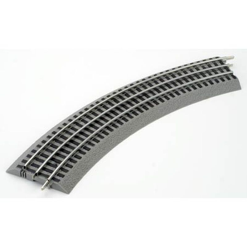 Lionel FasTrack O36 45 Degree Curved Track(4 pack)