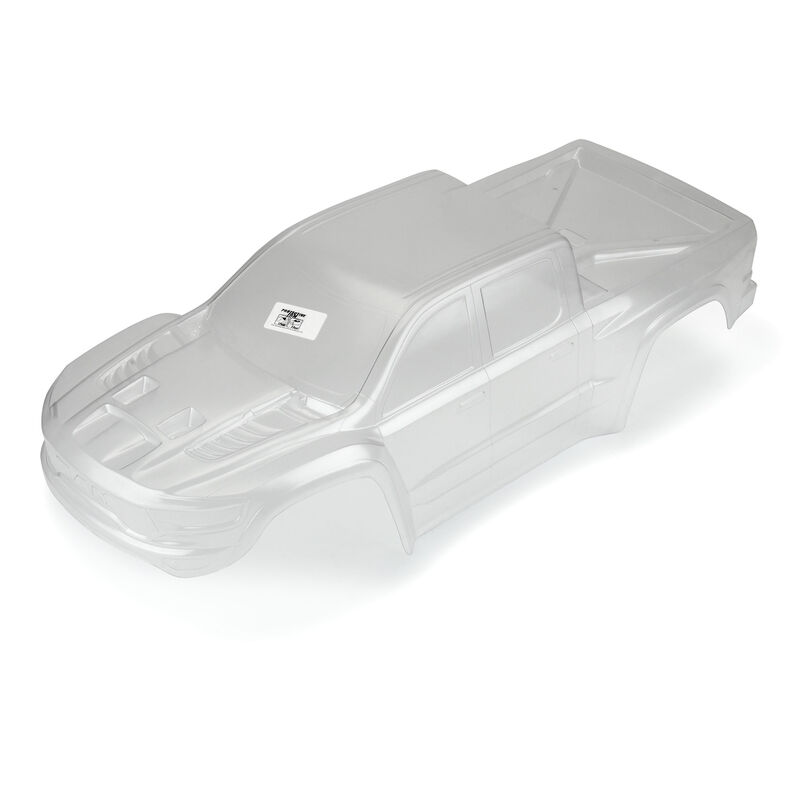 1/5 Pre-Cut 2021 Ram 1500 Clear Body: X-MAXX