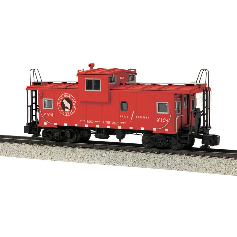 Extended Vision Caboose Hi-Rail Wheels GN #X104