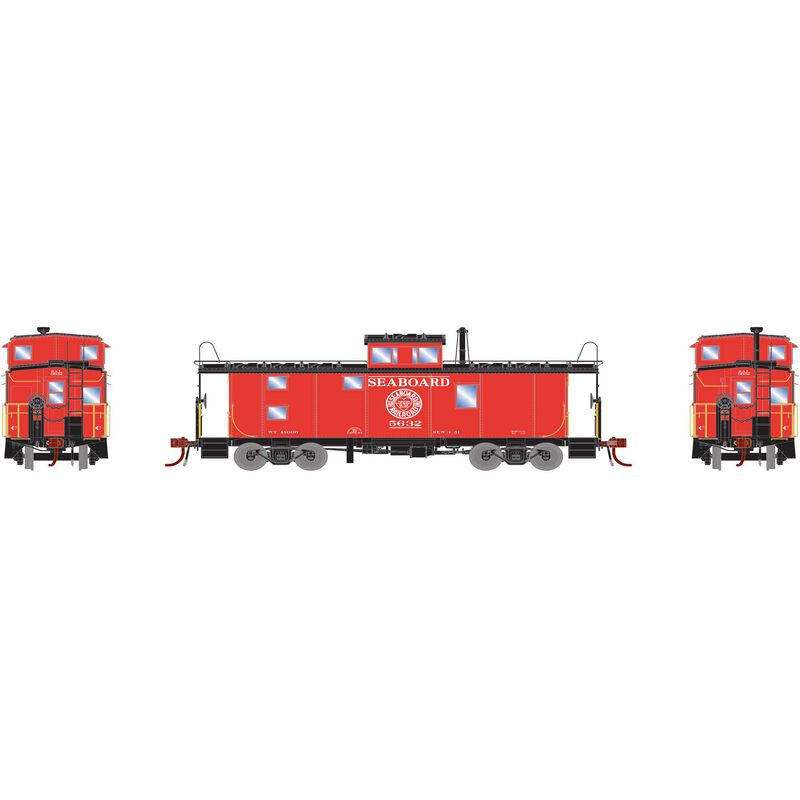 HO ICC Caboose with Lights & Sound, SAL #5632