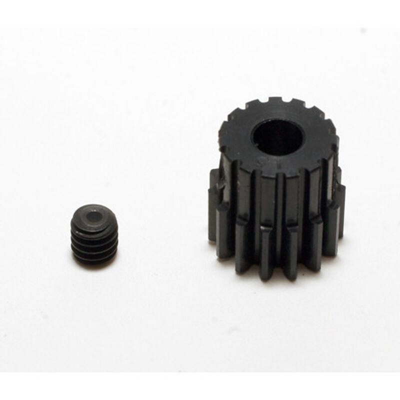 48P Hard Coated Aluminum Pinion Gear, 15T