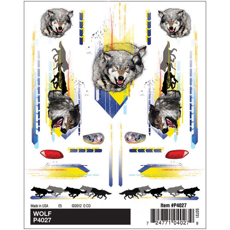 Dry Transer Decals, Wolf