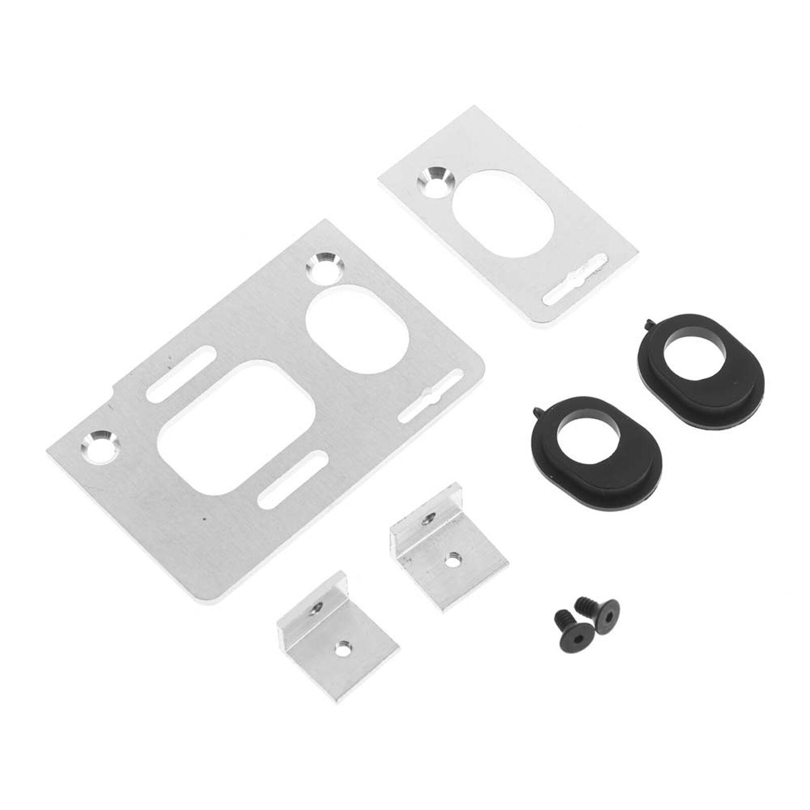 Aluminum Motor Axle Mount: Electric Drag Kits