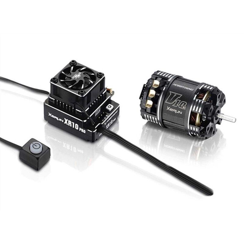 XR10 Pro G2, V10 10.5T G3 Motor/ESC Combo
