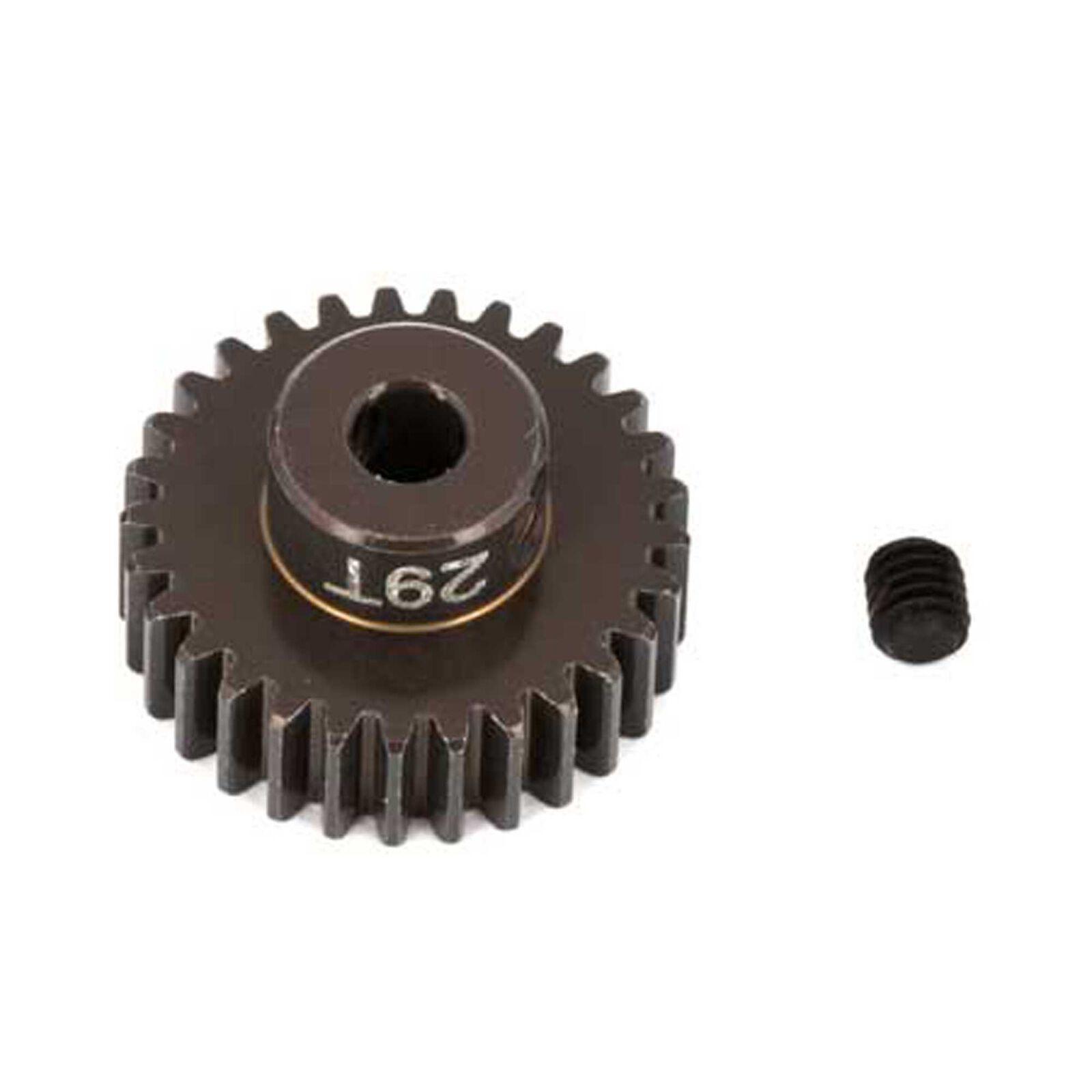Factory Team Aluminum Pinion Gear, 29T, 48P, 1/8 shaft
