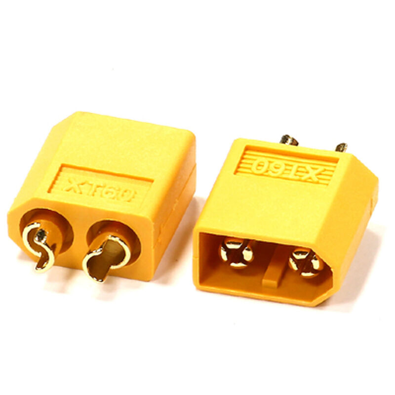 Connector: XT60 Male, 3.5mm (2)