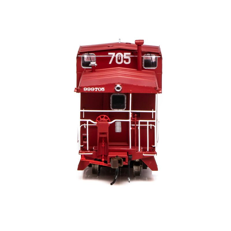 HO ICC Caboose with Lights & Sound ATSF #999705