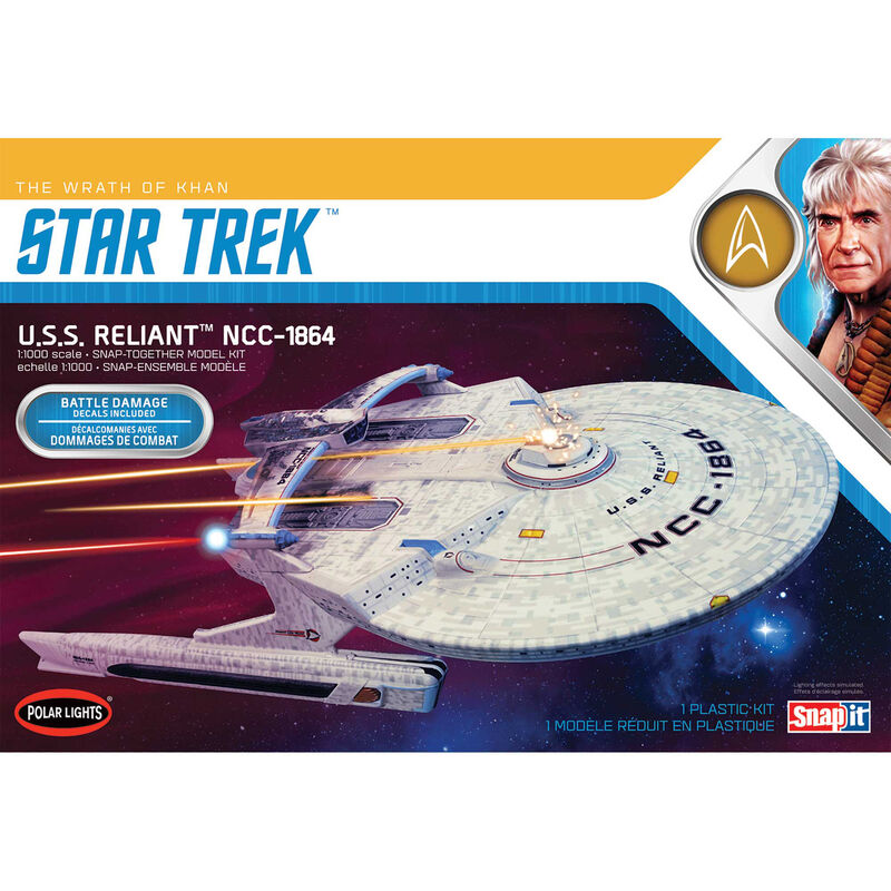 1/1000 Star Trek USS Enterprise Reliant Wrath Khan