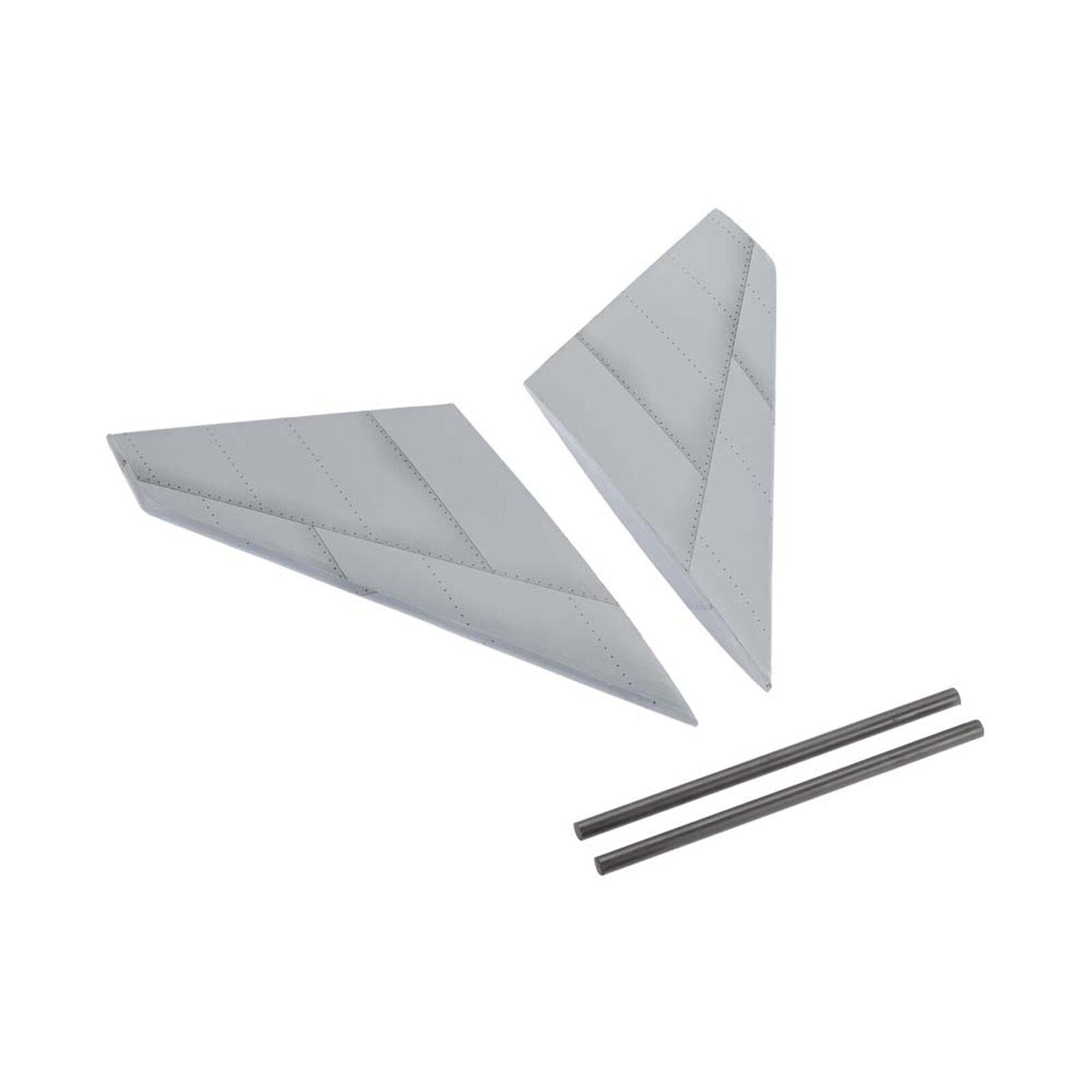 Horiz Stabilizer Set Gripen 90mm EDF ARF