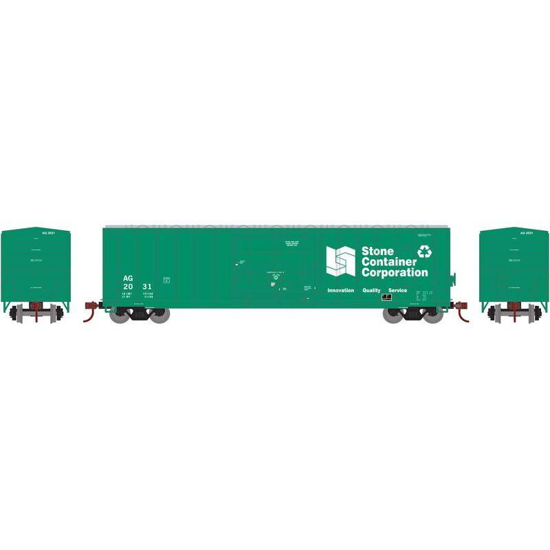 N 50' FMC Superior Plug Door Box AG #2031