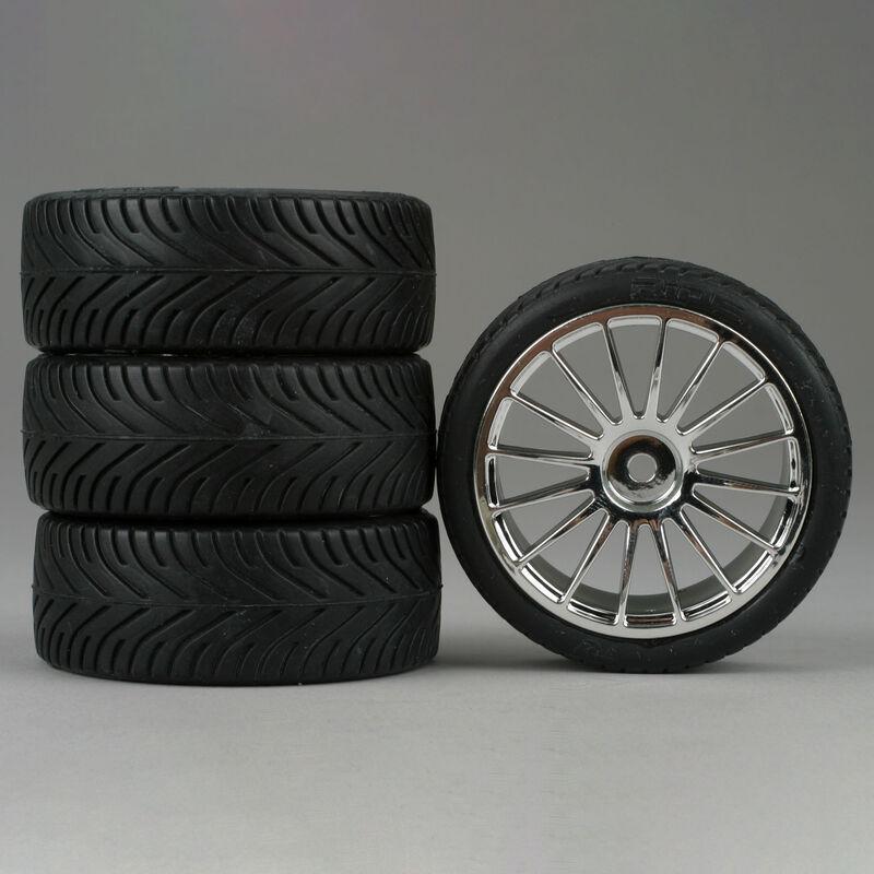 16-Spoke Chrome Wheel, Radial (4)