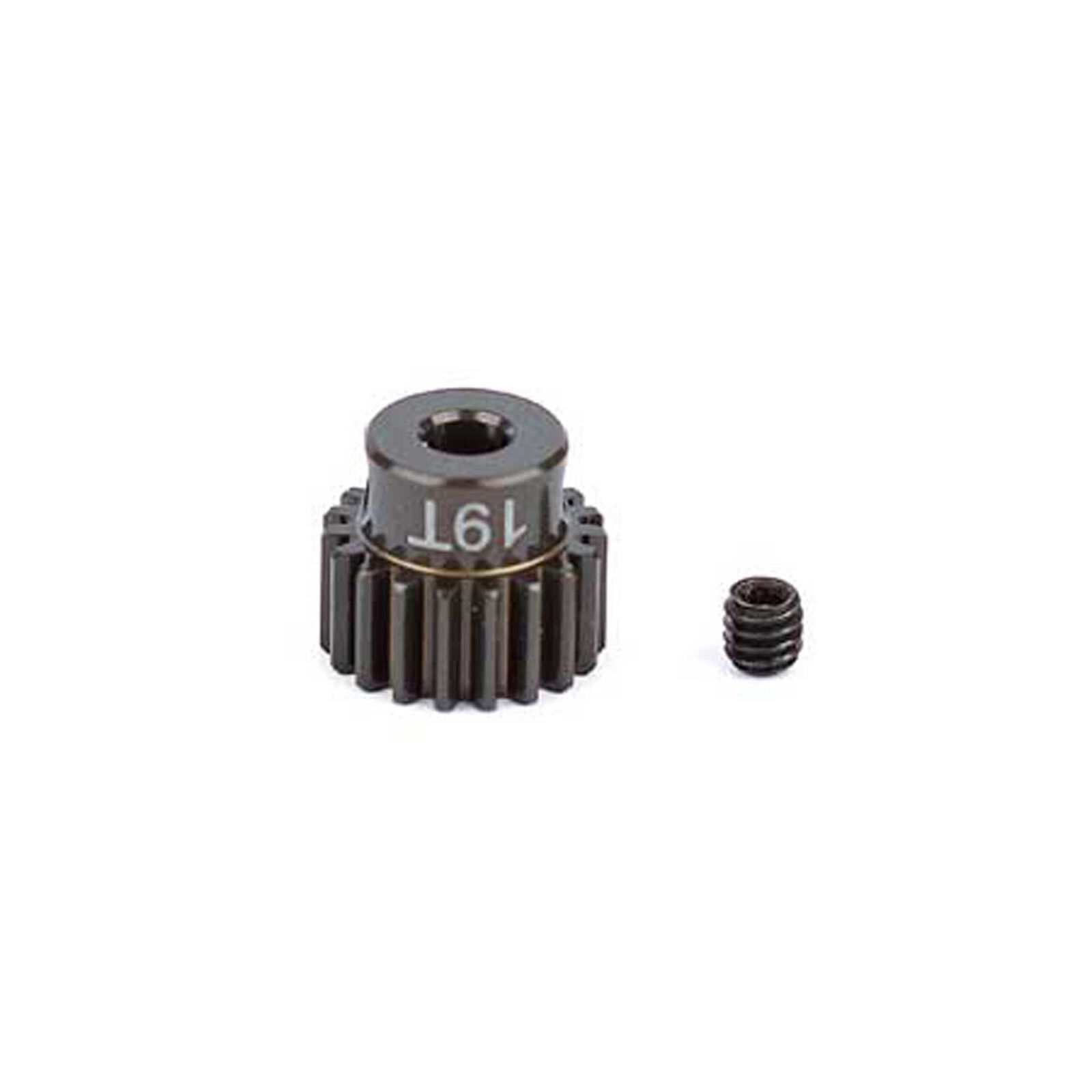 Factory Team Aluminum Pinion Gear, 19T, 48P, 1/8 shaft