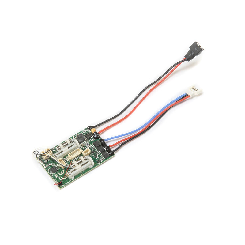 A6420BL 6CH UMX RX with AS3X SAFE BL ESC Gee Bee