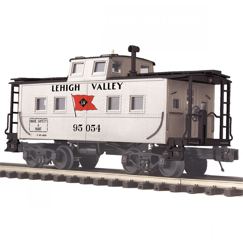O Center Cupola Steel Caboose LV #95054