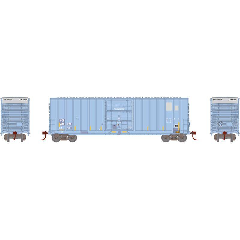 HO 50' Ext Post High Cube Plug Door Box AOK#409151