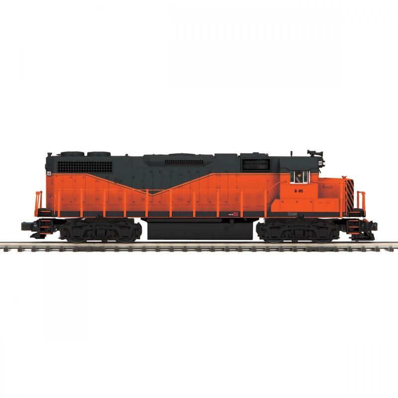 O GP38-2 with PS3 & Scale Wheels Armco Steel #B-85