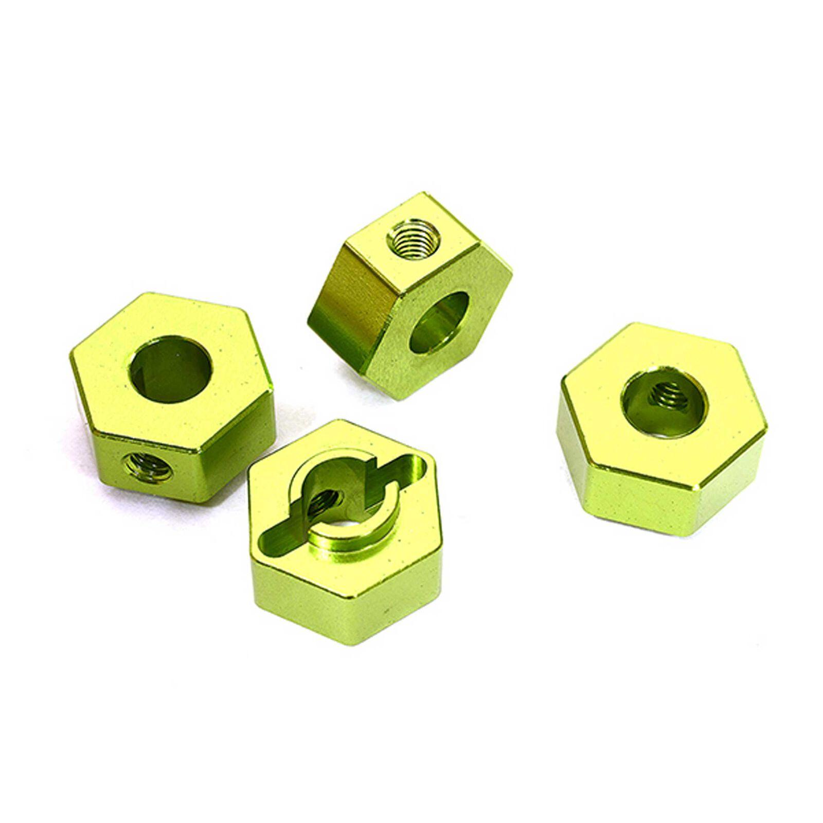 Wheel Hex, Green (4): ARRMA 1/10 GRANITE Voltage